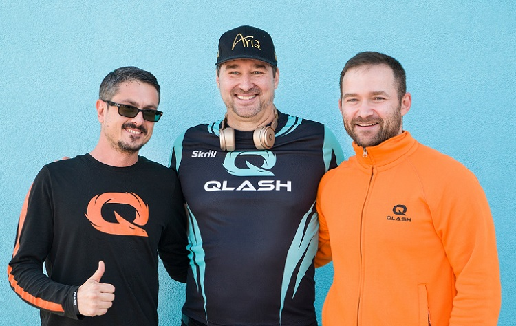Phil Hellmuth Team QLASH 2019
