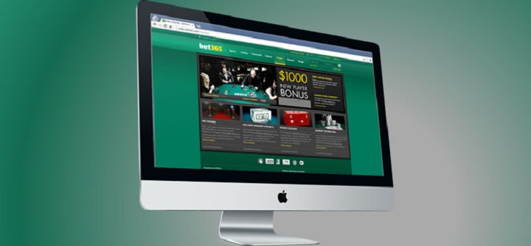 Bet365 on computer