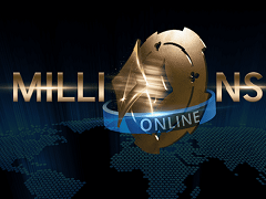 The guarantee of $20 000 000 was beaten in Millions Online at PartyPoker