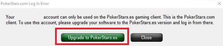 Оновлення клієнту ПокерСтарс