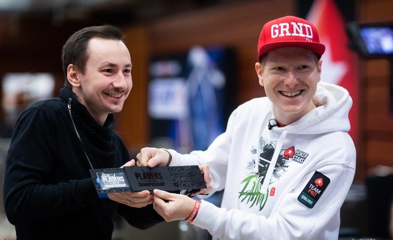 Евгений Шибалдин на EPT Prague 2019