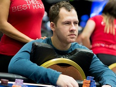 Daniel Cates will play in a heads-up battle against Galfond with special conditions