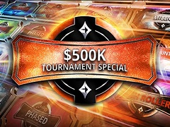 """""""$500K Tournament Special"""" promotion at PartyPoker"""