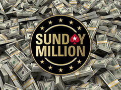 Results of the cheapest and biggest Sunday Million of this year