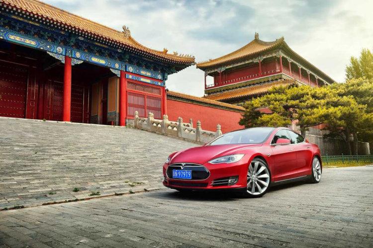 Tesla Китай