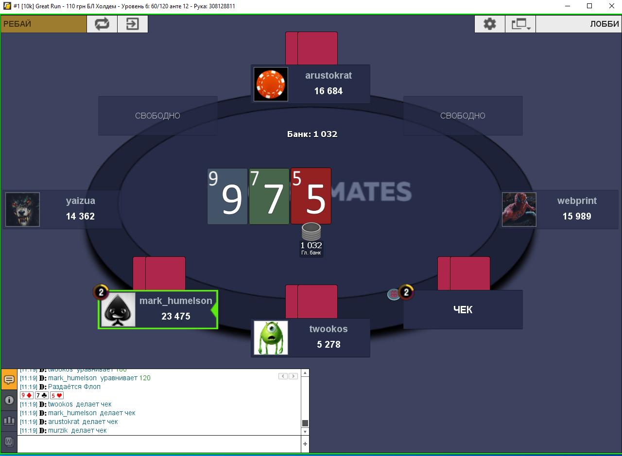 Лейауты PokerMatch 2019