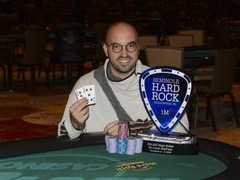 Bryn Kenney took down $25 500 High Roller at Rock & Roll Poker Open