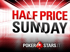 50% off for PokerStars key tournaments on 15 December