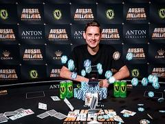 Тоби Льюис второй год подряд побеждает в турнире cерии Aussie Millions