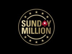 The first $109 Sunday Million winner was announced