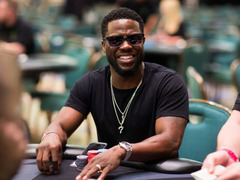 Tips to keep poker face from Kevin Hart
