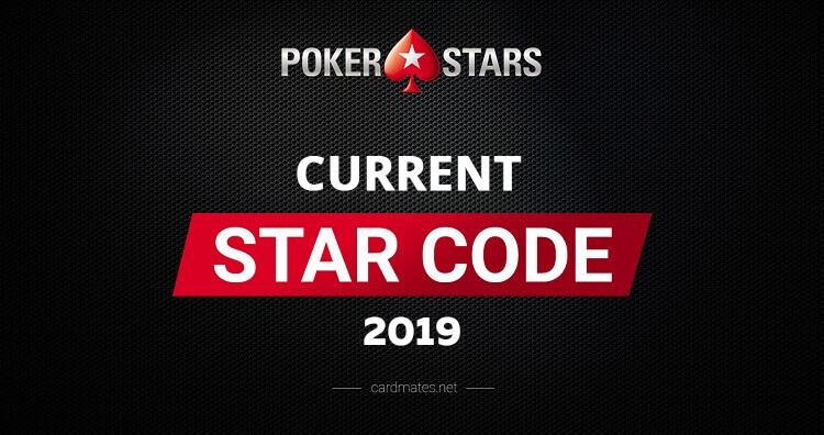 ≡ Actual Star Code PokerStars 2019