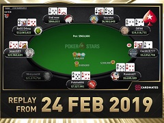 Sunday Million Replay от 24.02.2019