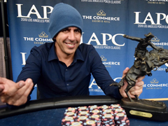 Joshua Prager got LAPC One Million Champion Title and won more than $220,000