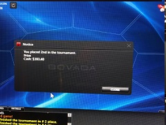 New marathon: from $200 to $100 000 playing poker
