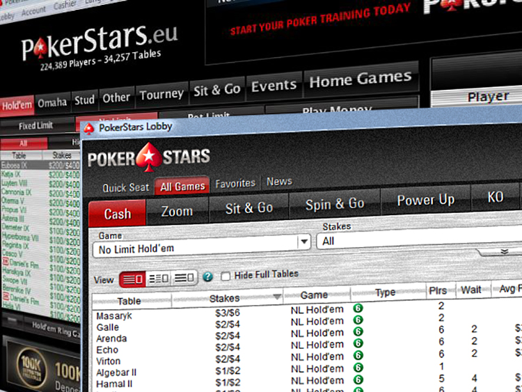 PokerStars.com and PokerStars.eu