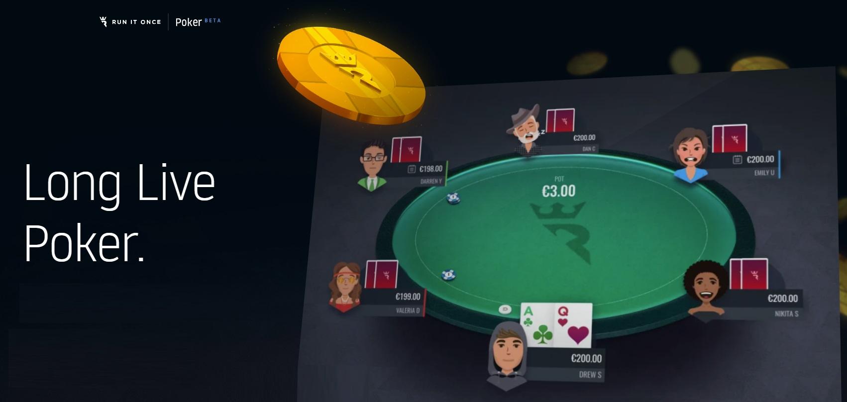 Плюсы и минусы Run It Once Poker