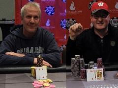 Отец и сын синхронно выиграли турниры на WSOP Cicuit