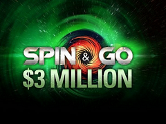 PokerStars представили Spin&Go с джекпотом 3 000 000$