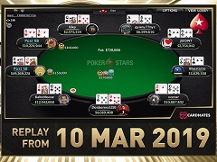 Sunday Million Replay от 10.03.2019