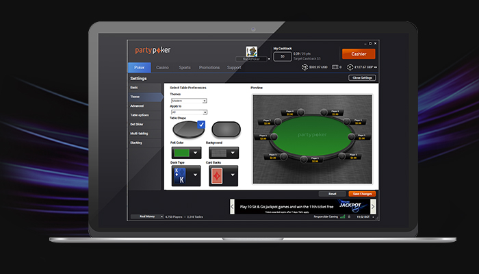 partypoker software