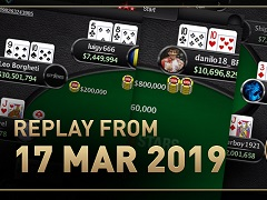 Sunday Million Replay от 17.03.2019