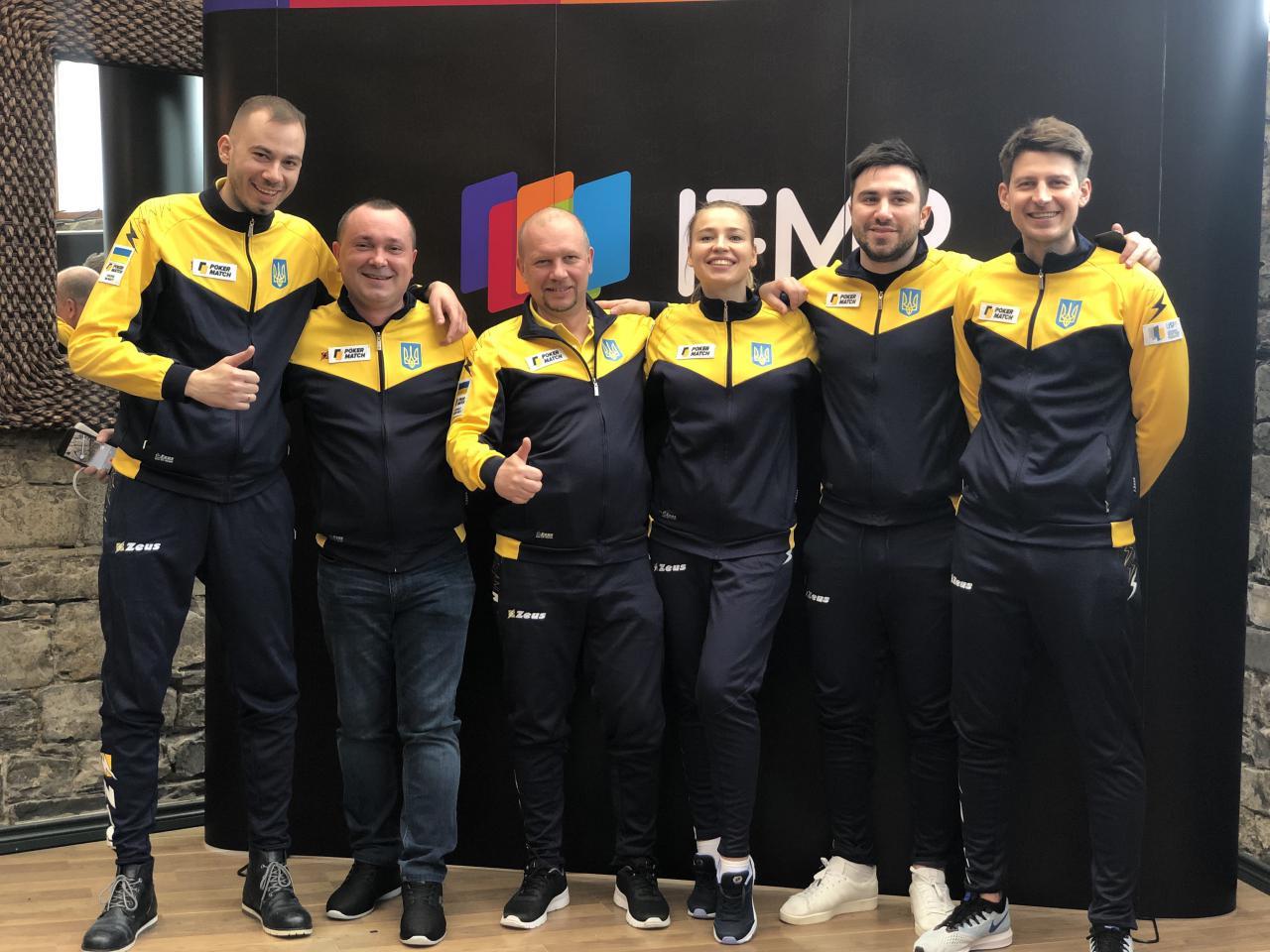Украинская сборная лидирует на Кубке Наций 2019