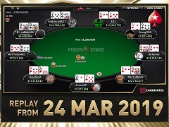 Sunday Million Replay от 24.03.2019