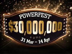 В воскресенье на PartyPoker стартует PowerFest с гарантией 30 000 000$