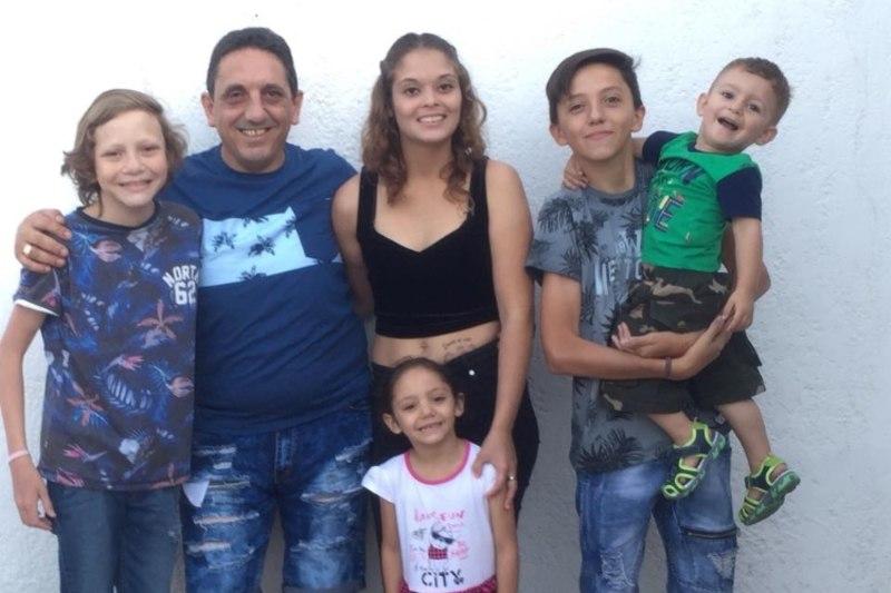 Семья Марсело Дальто 2019