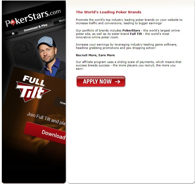 PokerStars partner program