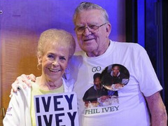 Phil Ivey lost one of his most loyal fans