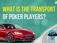 What do poker players drive on?