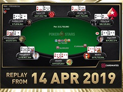 Sunday Million Replay от 14.04.2019