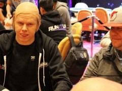 Член команды PokerStars проиграл пари и сверкнул лысиной на серии Run It Up