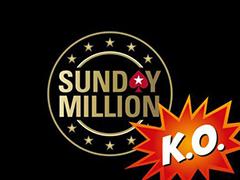 Турнир Sunday Million впервые прошел в формате нокаута