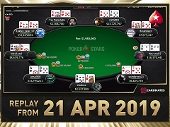 Sunday Million Replay от 21.04.2019