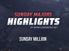 Sunday Million Highlights от 21.04.2019