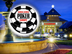 WSOPE schedule is finalized