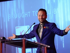 Negreanu collected $300,000 in a charity tournament