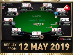 Sunday Million Replay от 12.05.2019