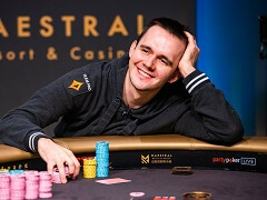 Badziakouski won another Triton Poker trophy