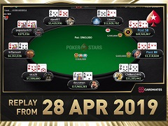 Sunday Million Replay от 28.04.2019