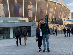 Райан Рисс: «Я встретил Игоря Ярошевского на матче Динамо-Шахтер. Думаю, он был в шоке»