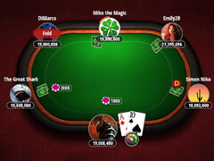 """Button"" position in poker"