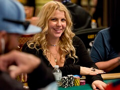 Chris Moorman's wife leads the WSOP Ladies Championship