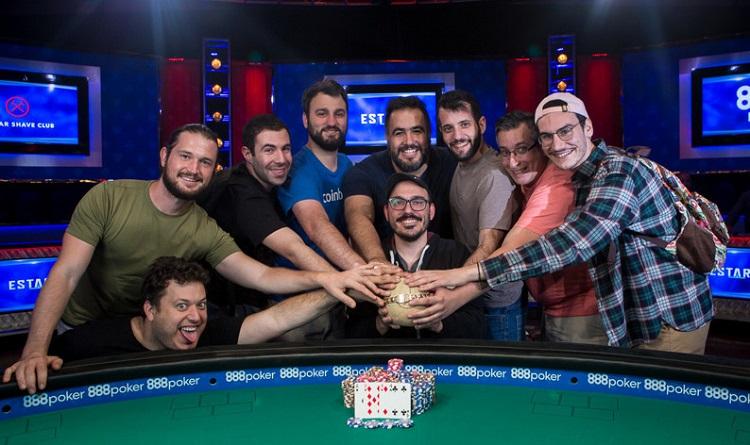 Радость от победы на WSOP