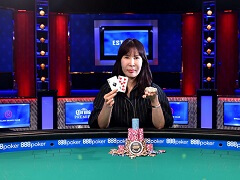 WSOP Ladies Championship winner is determined