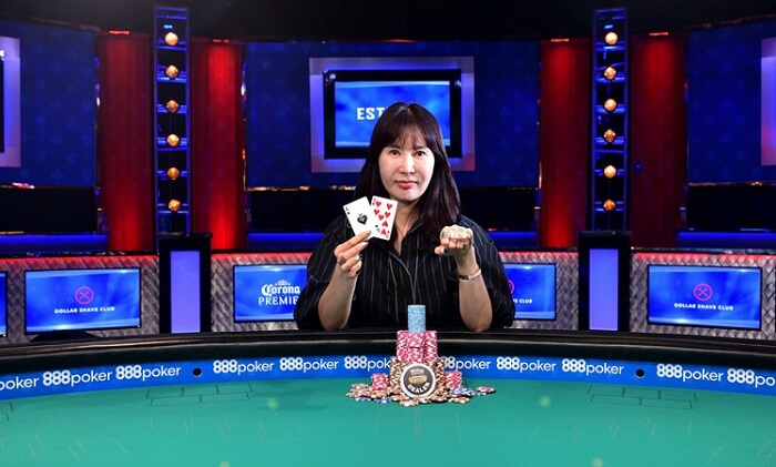 Jiyoung Kim poker player