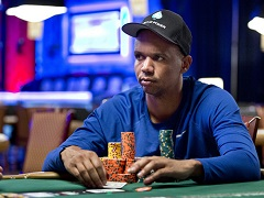 Ivey is still a chip leader of the Poker Players Championship